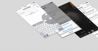 Apple's iOS 8 vs. iOS 7 and its Usability