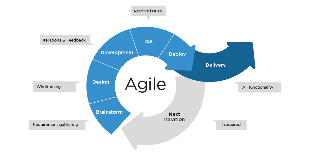 Demomedia purl for Project management agile waterfall